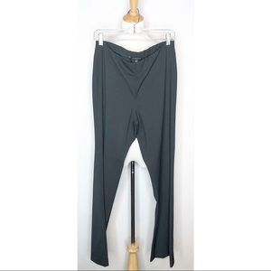 NWT Eileen Fisher Polished Twill Straight Pant 12